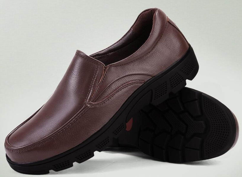 Männer Füße Braun Faulenzer Freizeitschuhe Herrenschuhe Lederschuhe Braun Füße e06a1c