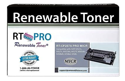 Renovables tóner 87 un micr Compatible sustitución del ...