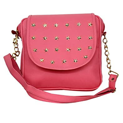 d579a3c78 mango star Women's Synthetic Leather Mustard Sling Bag