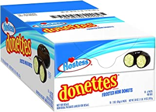 product image for Donettes Mini Donuts, Frosted, 3 Ounce, 10 Count (2 Pack)