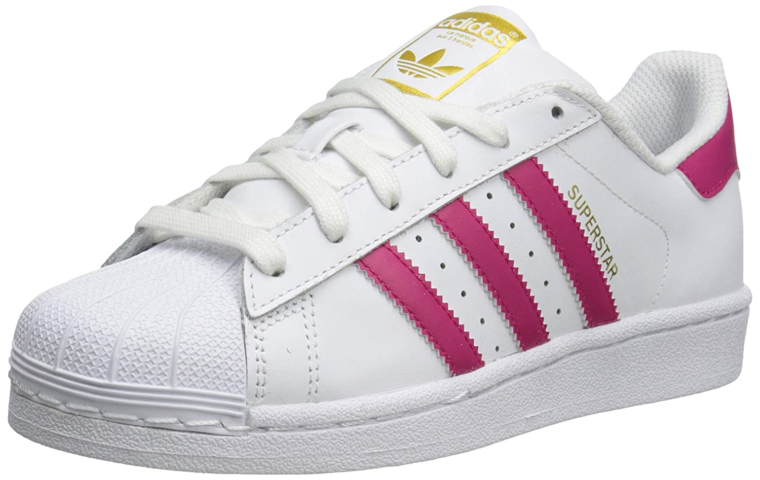 separation shoes ab879 be455 Adidas Superstar Foundation J Casual Basketball-Inspired Low ...