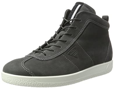 Ecco Soft 1, Sneakers Basses Homme, Noir (Black), 43 EU