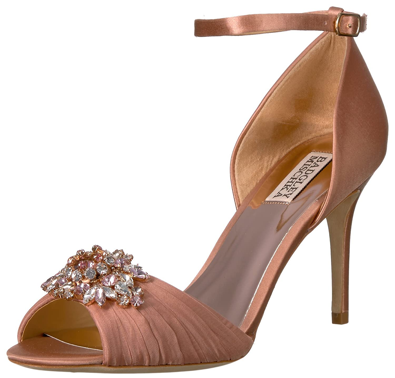 643ae391a52 Badgley Mischka Women's Sabrina Heeled Sandal: Amazon.co.uk: Shoes ...