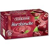 Teekanne Herzkirsche, 3er Pack (3 x 20 Teebeutel)