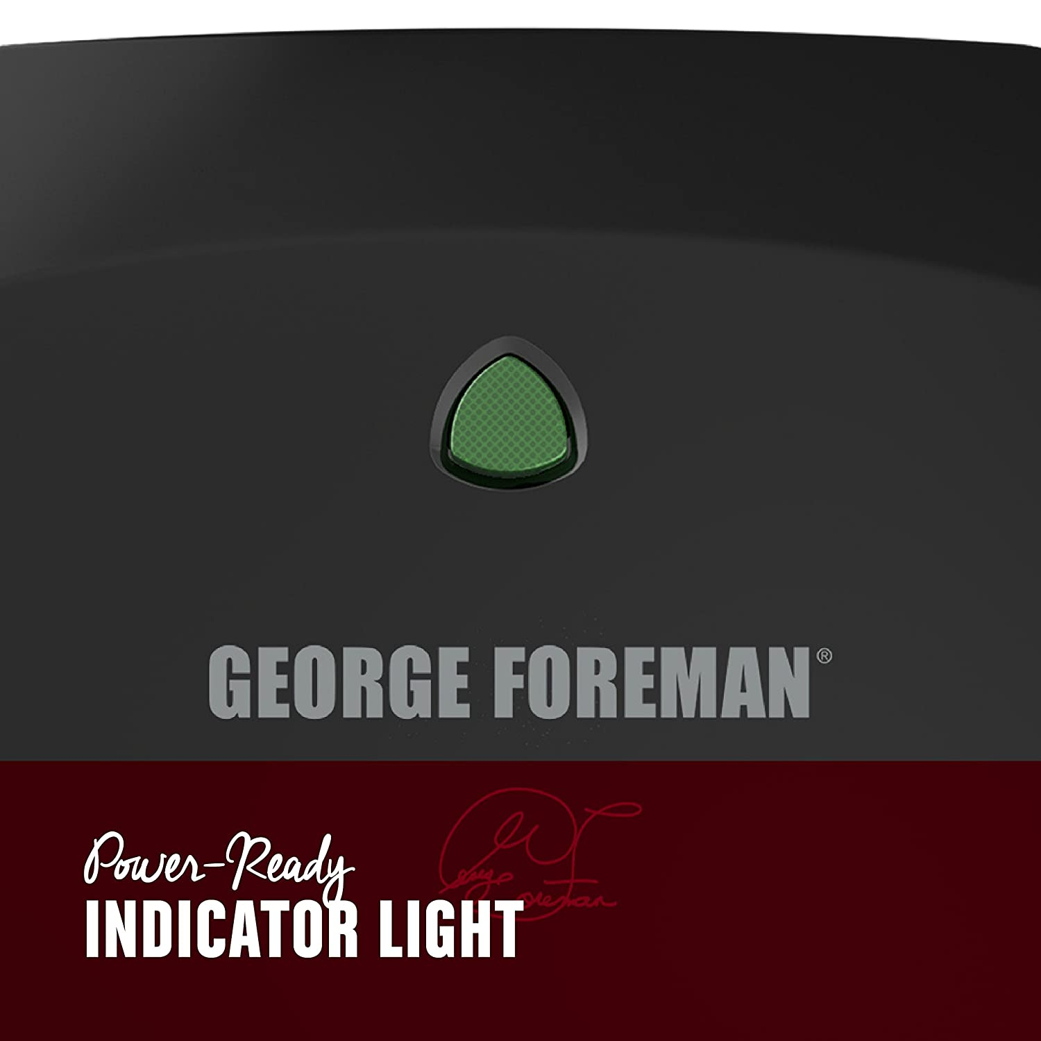 George Foreman 2-Serving Classic Plate Electric Grill and Panini Press GR136B Applica Incorporated//DBA Black and Decker Black