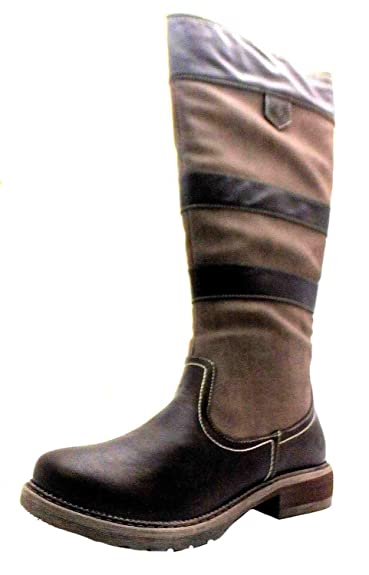 c1be6964 Size 9 Heavenly Feet Women's Burley Synthetic Riding Boots: Amazon ...