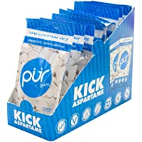 PUR 100% Xylitol Chewing Gum, Peppermint , Sugar-Free + Aspartame Free, Vegan + non GMO, 55 Pieces (Pack of 10)