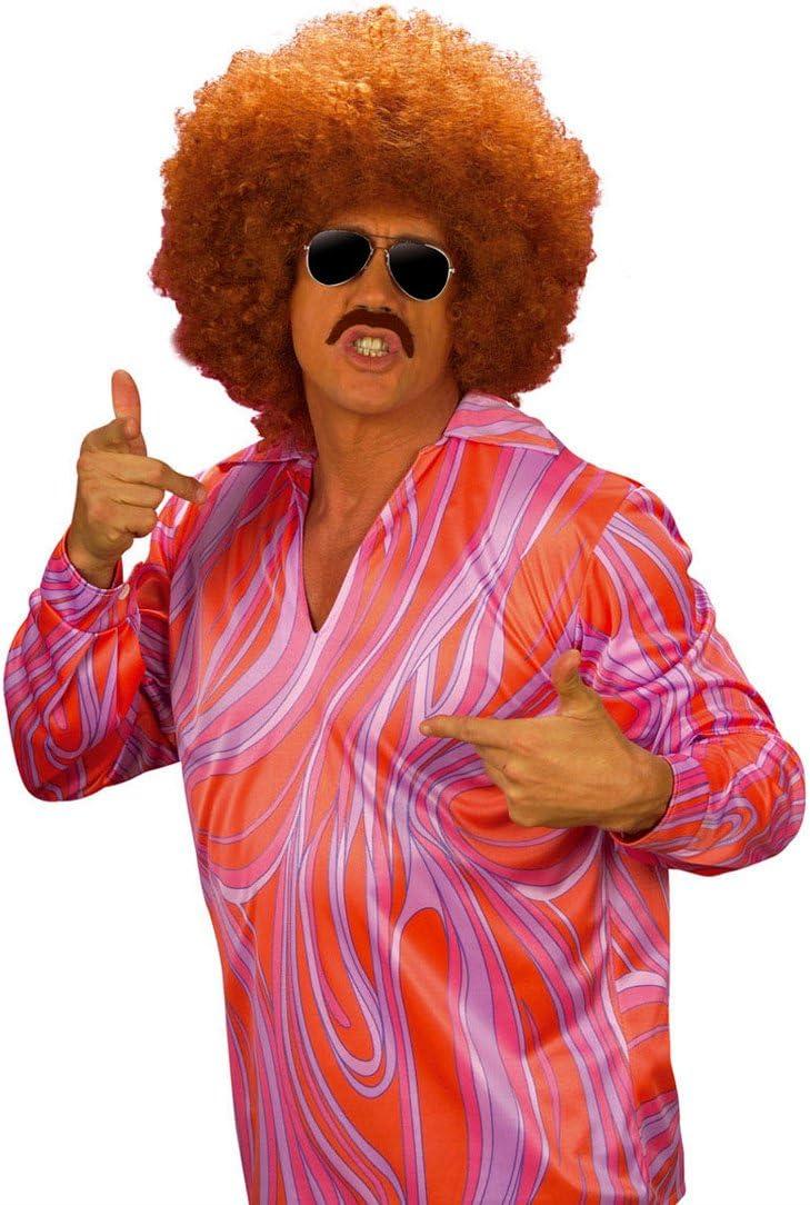 Disfraz de Disco Fiesta Camisa 70er Jahre Camisa Hippie ...