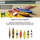 GYMTOP 7.8-18ft Waterproof Kayak Canoe