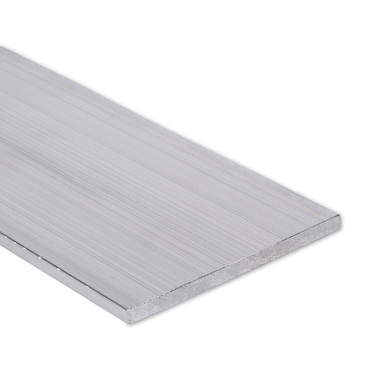 """3//8/"""" x 3/"""" Aluminum Flat Bar 6061 Plate T6511 Mill Stock 0.375/"""" 2/"""" Length"""
