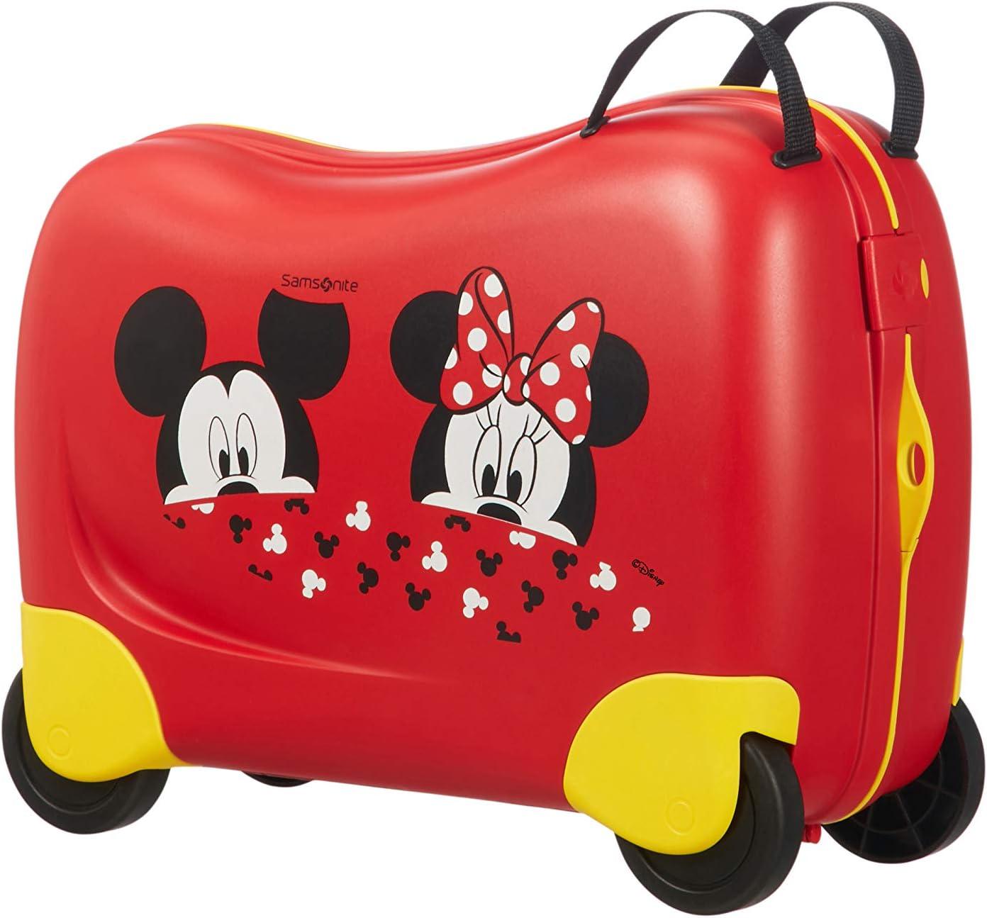 Samsonite Dream Rider Disney - Maleta Infantil, 51 cm, 28 L, Rojo (Mickey/Minnie Peeking)