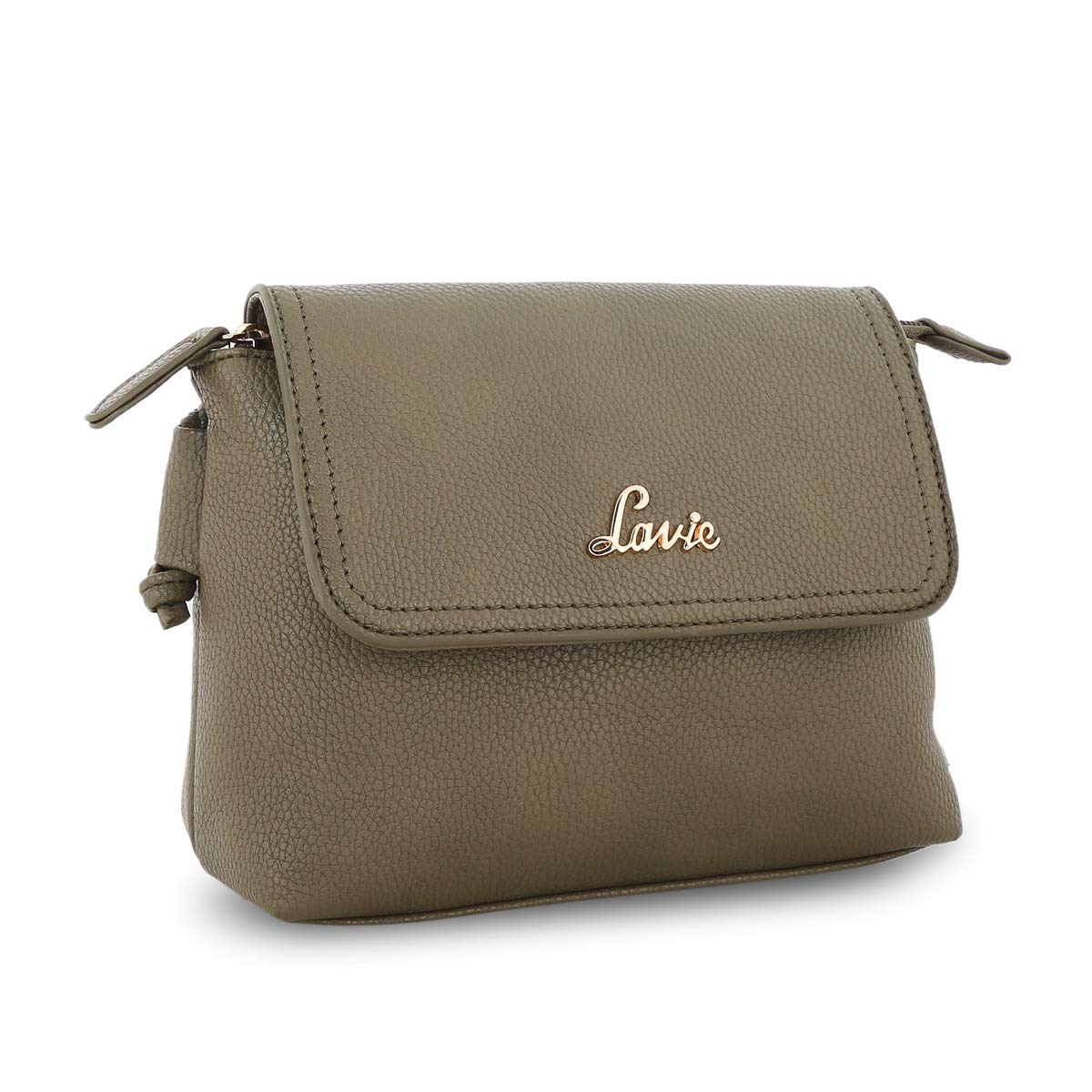 8248e479975 Lavie Broxa Women s Sling Bag (Olive)  Amazon.in  Shoes   Handbags