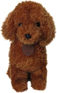 29c8915fb55 WHITE POODLE SOFT AND CUDDLY TOY  Amazon.co.uk  Toys   Games