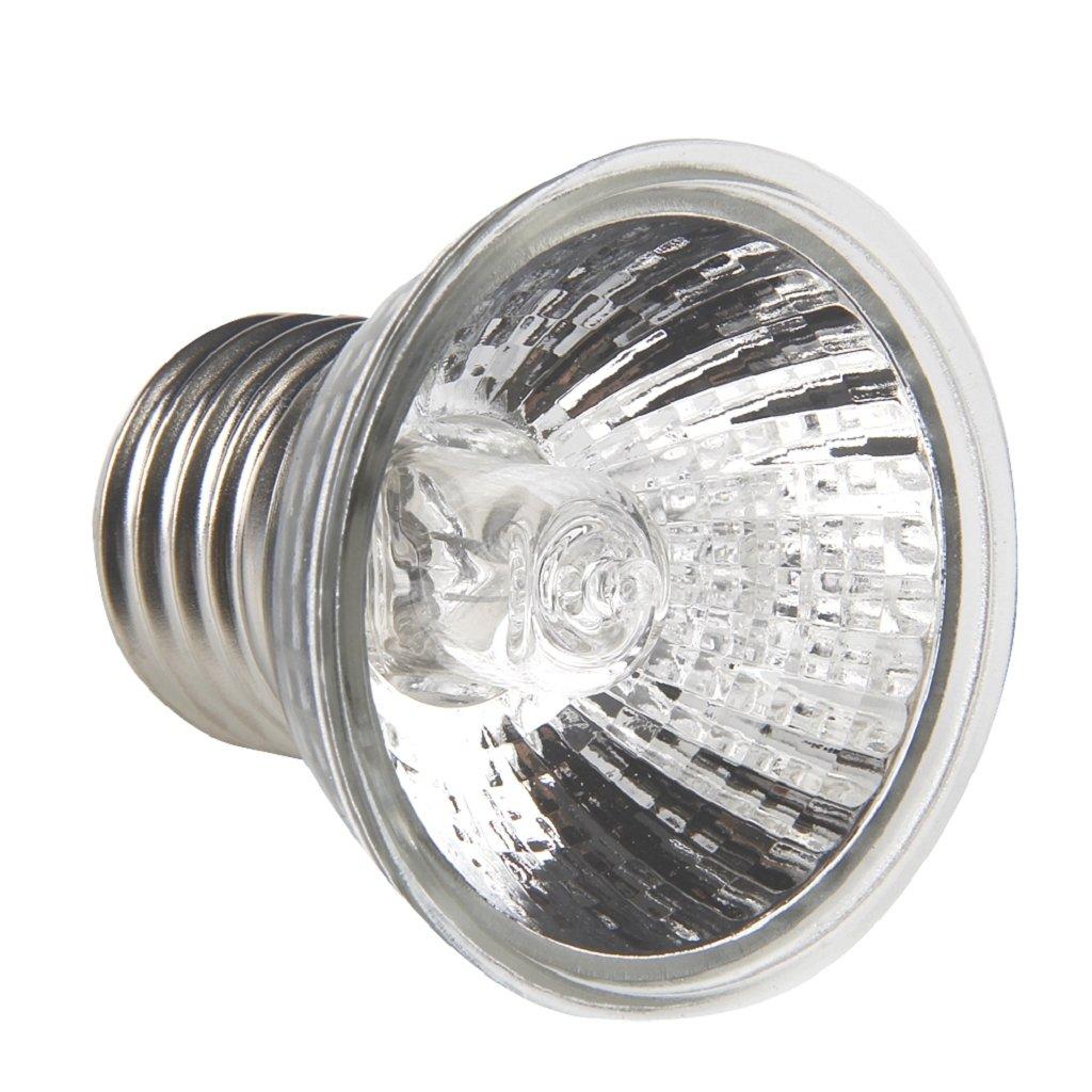 Kocomo Full Spectrum UVA UVB Sunlamp for Reptile Tortoise, 25W Pet Heating Lamp Basking