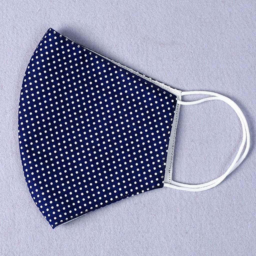 Himmelblau, 2 PCs Reasoncool Waschbare Gesichts Schutz Au/ßenbereich Sonnenschutz Atmungsaktiv H/ängendes Ohr Bandana Bequem Sturmhaube