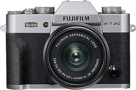 Fujifilm X-T20 - Kit de cámara Evil de 24 MP y Pantalla de 3