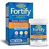 Nature's Way 50+ Probiotic, 50 Billion Live Cultures, 11 Strains, Prebiotic, 30 Capsules