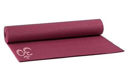 Yogistar Yogamatte Basic Om Esterilla de Yoga, Unisex Adulto