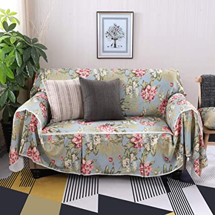 Genial AFAHXX American Style Couch Covers,Thicken Non Slip Decorative Sofa  Slipcover Lace Sofa Cover