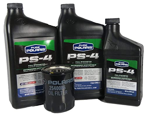 PURE POLARIS Ranger/RZR 900 2013, PS-4 OIL CHANGE KIT 2.5 QTS, With Filter