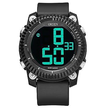 Sports Watches Relojes de Hombre Reloj Deportivo electrónico ...