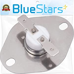 Ultra Durable 9759242 Thermal Fuse Replacement Part by Blue Stars - Exact Fit for Whirlpool Ovens - Replaces 4452223 9759242