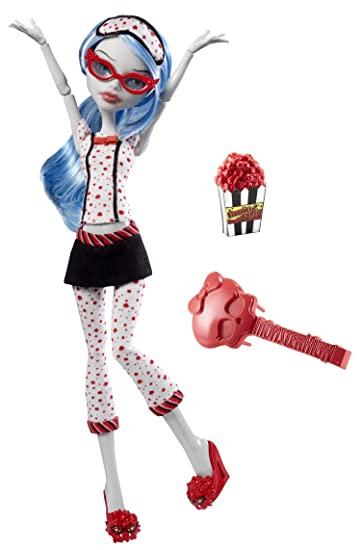 Amazoncom Monster High Dead Tired Ghoulia Yelps Doll Toys  Games