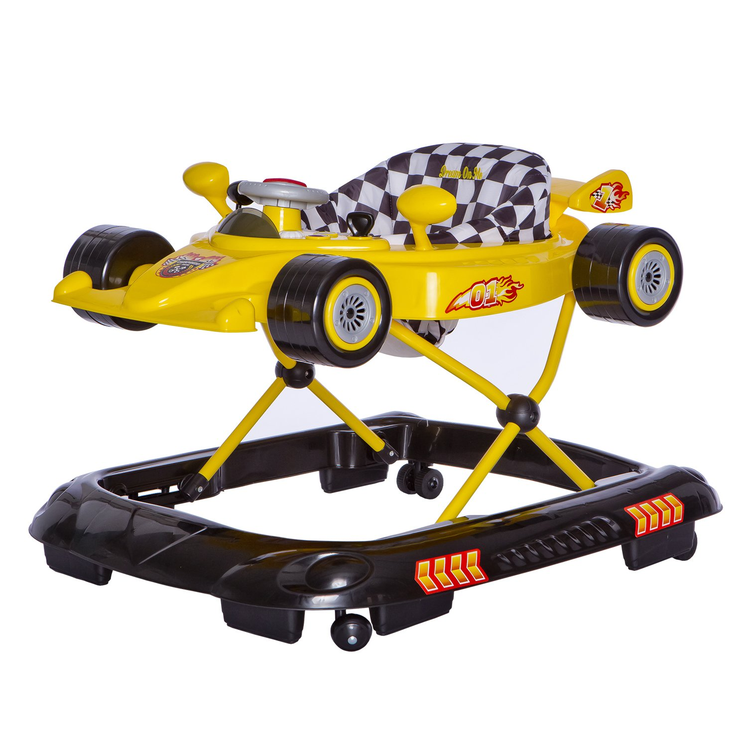 Dream On Me Victory Lane Activity Walker, Red 509-R