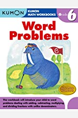 Grade 6 Word Problems (Kumon Math Workbooks) Paperback