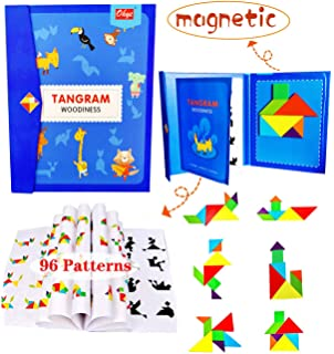 Tangram Geometric Shape Puzzle Game for Children and Adults Tangoes Starter