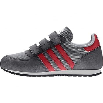 adidas Zapatillas para niños Originales (deportivas) ADISTAR RACER CF C midgre/colre - grismed/rojocol, otro, 35: Amazon.es: Deportes y aire libre