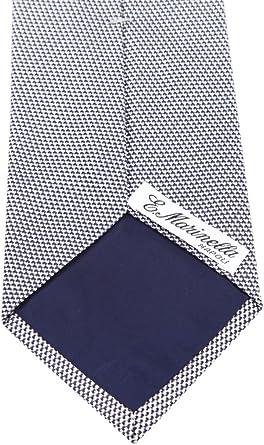 E. Marinella - Corbata - para hombre azul Dunkelblau Silber ...