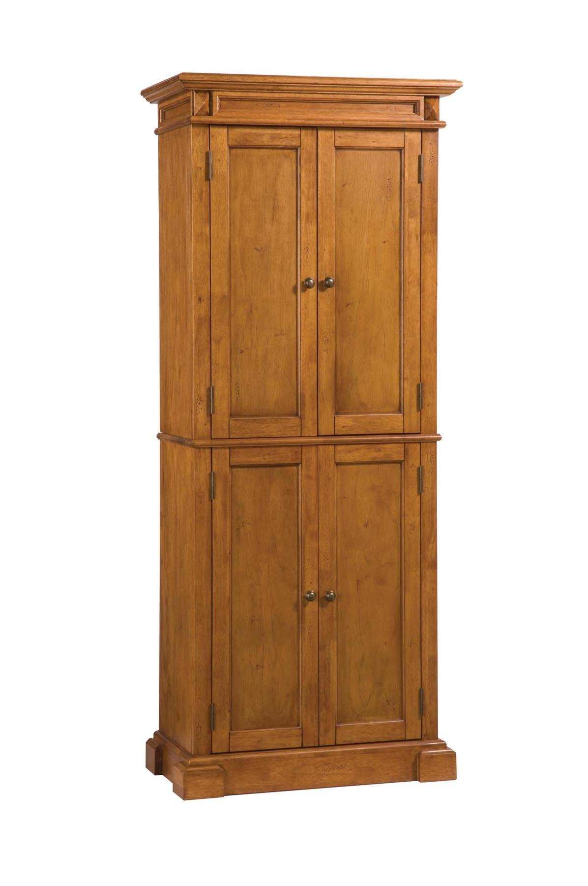 Pantry with Cottage Oak Finish by Home Styles