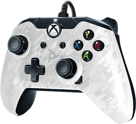 PDP - Mando Licenciado Nueva, Color Camuflaje Blanco (Xbox One): Amazon.es: Videojuegos