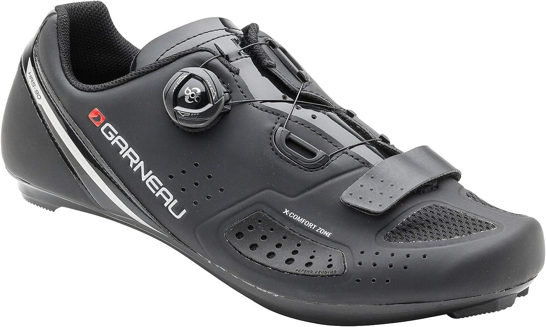 Louis Garneau Platinum 2 Zapatillas de ciclismo para hombre con clip para todos los pedales de carretera y SPD