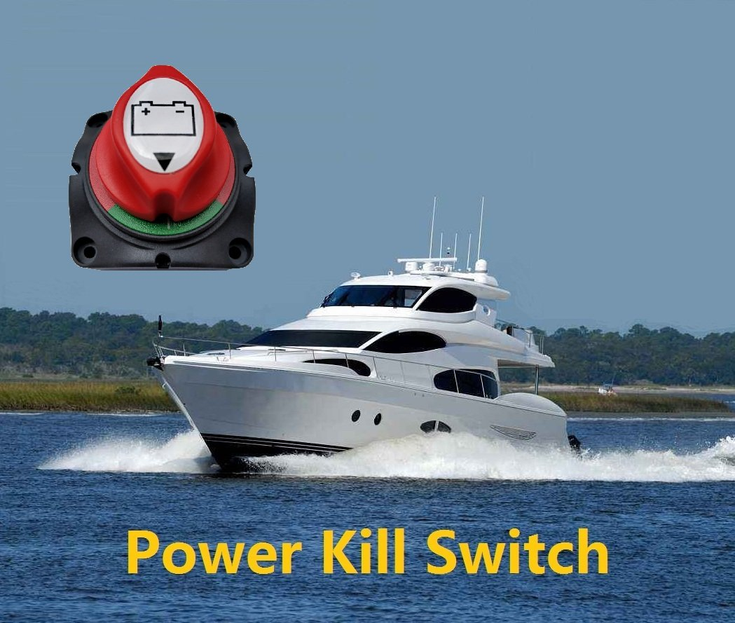 ANJOSHI Battery Switch Master Isolator Cut Off Kill Switch for RV Battery Marine Boat Car Vehicles 275//1250 Amps Waterproof