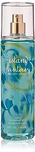 Britney Spears Island Fantasy Fragrance Mist, 8 Ounce