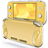 JETech Protective Case for Nintendo Switch Lite 2019, Grip Cover with Shock-Absorption and Anti-Scratch Design (HD Clear…