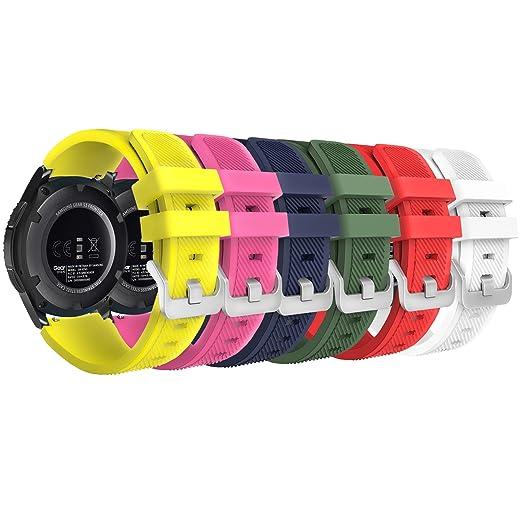 75 opinioni per MoKo [6 pezzi] Gear S3 Frontier / Classic Watch Cinturino, Braccialetto Sportivo