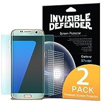 Película Para Galaxy S7 Edge Ringke ID Cobertura Completa, Slim HD Transparente, Alta Compatibilidade Com Capas ( Com 2 Unidades )