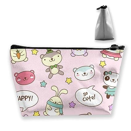 Bolsa de maquillaje Teddy-Bear-Bunny Bolsas de aseo grandes ...
