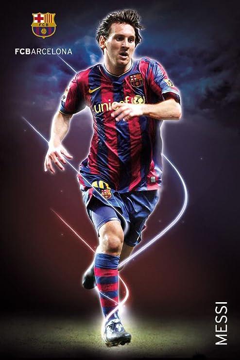 Empire Merchandising GmbH De balón de fútbol - Barcelona - Messi ...
