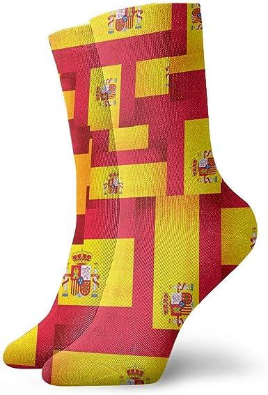 LarissaHi España bandera superposición tobillo calcetines casual ...