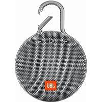 Caixa de Som CLIP 3 Bluetooth Portátil, JBL, Cinza