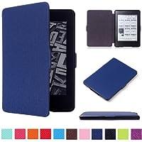 Capa para Kindle Paperwhite - Rígida - Várias Cores (Azul Marinho)