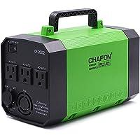 Chafon 200 Wh Generador portátil, estación de poder, batería recargable CPAP Pack Inversor con salida de 110 V/250 W CA, CC 12 V, puertos USB para emergencia de camping