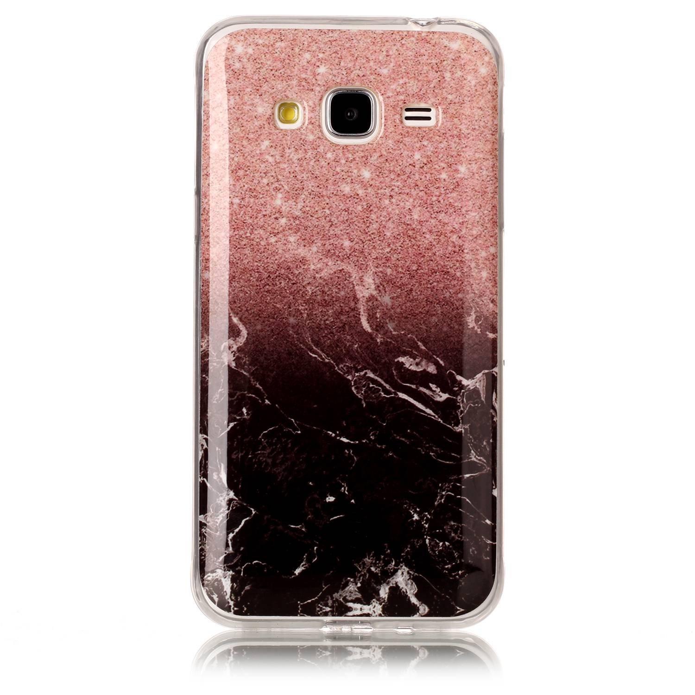 Lomogo Schutzh/ülle Sto/ßfest Kratzfest Handyh/ülle Case mit Marmormuster f/ür Samsung Galaxy J3 2016 YIHU23478 #3 2016 // J320 H/ülle Marmor Silikon Samsung Galaxy J3 // J3