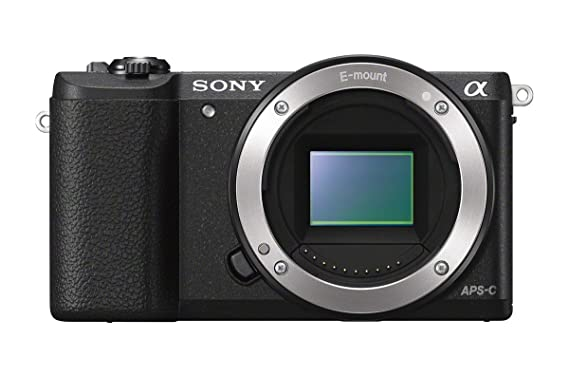 Sony a5100 Mirrorless Digital Camera with 3-inch Flip up LCD - Body Only (Black) Mirrorless System Cameras at amazon