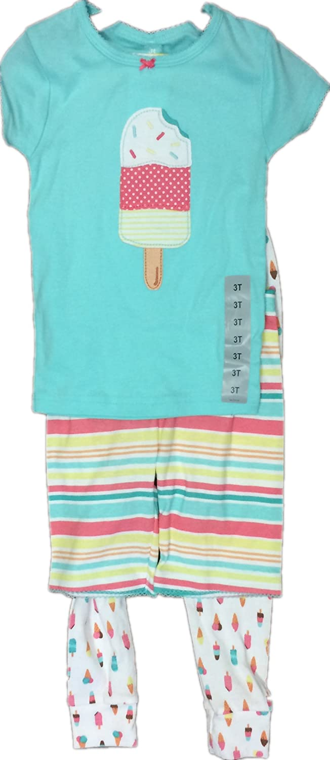 【年中無休】 Carter's Icecream SLEEPWEAR ユニセックスベビー 3T 3T Teal Icecream Carter's B077GCZBRF, BAS CLOTHING:18132077 --- a0267596.xsph.ru