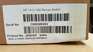 HP 16-Port Switch, Unmanaged (J9560AS#ABA)